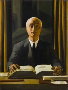 Felice Casorati – Ritratto di Riccardo Gualino, 1922 – Collezione privata